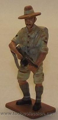 LOTE SOLDADO DE PLOMO - INGLESES GURKHAS 1941 - WWII ALIADOS (Juguetes - Soldaditos - Soldaditos de plomo)