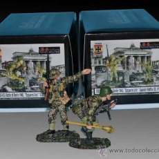 Juguetes Antiguos: ARTSOLDIERS MINIATURAS LOTE1 SPANISH SOLDIERS OF THE WAFFEN SS DURING THE BATTLE OF BERLIN.. Lote 35476870