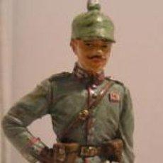 Juguetes Antiguos: LOTE SOLDADO DE PLOMO - OFICIAL PRUSIANO 1914 - WWI ALEMANIA. Lote 35477636