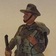 Juguetes Antiguos: LOTE SOLDADO DE PLOMO - SARGENTO INFANTERIA AUSTRALIANA 1918 - WWI AUSTRALIA. Lote 35477818