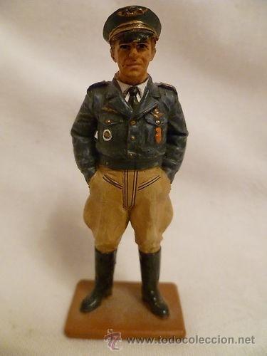 LOTE SOLDADO DE PLOMO - COMANDANTE PILOTO FRANCIA LIBRE - FRANCIA 1943 - WWII ALIADOS (Juguetes - Soldaditos - Soldaditos de plomo)