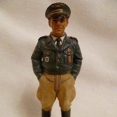 Juguetes Antiguos: LOTE SOLDADO DE PLOMO - COMANDANTE PILOTO FRANCIA LIBRE - FRANCIA 1943 - WWII ALIADOS. Lote 35477976