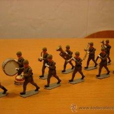 Juguetes Antiguos: SANQUEZ INFANTERIA ESPAÑOLA BANDA DE MUSICA 50MM AÑOS 40 TEO EULOGIO. Lote 35692972