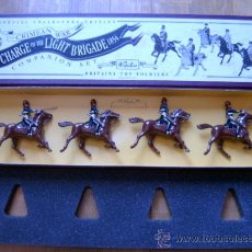 Juguetes Antiguos: 8TH HUSSARS - THE CRIMEAN WAR: THE CHARGE OF THE LIGHT BRIGADE 1854 - BRITAINS TOY SOLDIERS 3109. Lote 35792000