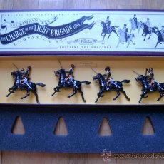 Juguetes Antiguos: 11TH HUSSARS - THE CRIMEAN WAR: THE CHARGE OF THE LIGHT BRIGADE 1854 - BRITAINS TOY SOLDIERS 3110. Lote 35792096