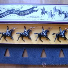 Juguetes Antiguos: 17TH LANCERS - THE CRIMEAN WAR: THE CHARGE OF THE LIGHT BRIGADE 1854 - BRITAINS TOY SOLDIERS 3113. Lote 35792157