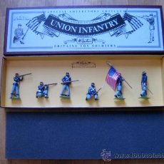 Juguetes Antiguos: UNION INFANTRY - THE AMERICAN CIVIL WAR - BRITAINS TOY SOLDIERS 8852. Lote 35792294