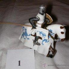 Juguetes Antiguos: SOLDADOS DE PLOMO - CABALLERO A CABALLO. Lote 36729624