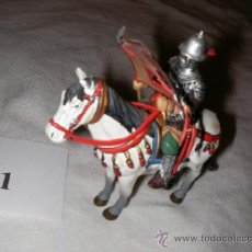 Juguetes Antiguos: SOLDADOS DE PLOMO - CABALLERO A CABALLO. Lote 36729633