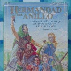 Juguetes Antiguos: FIGURAS DE PLOMO LA HERMANDAD DEL ANILLO - MITHRIL - TOLKIEN - EL SEÑOR DE LOS ANILLOS. Lote 44383374