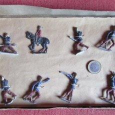 Juguetes Antiguos: CAJA DE SOLDADOS DE PLOMO - CAJA MUY ANTIGUA. Lote 46402628