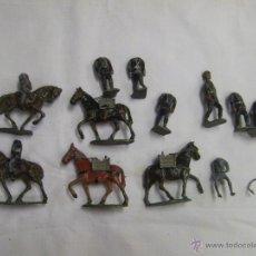 Juguetes Antiguos: LOTE DE SOLDADOS DE PLOMO. ¿POSIBLE CASTELL?. Lote 47194424