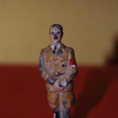 Juguetes Antiguos: FIGURA DE PLOMO - ADOLF HITLER - NAZI - II GUERRA MUNDIAL. Lote 47500993