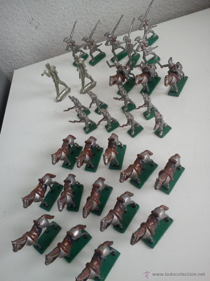 Juguetes Antiguos: MAGNIFICA Y ANTIGUA COLECION DE SOLDADITOS Y CAVALLITOS DE PLOMO DOS ANOS 50,60 - Foto 5 - 47608123