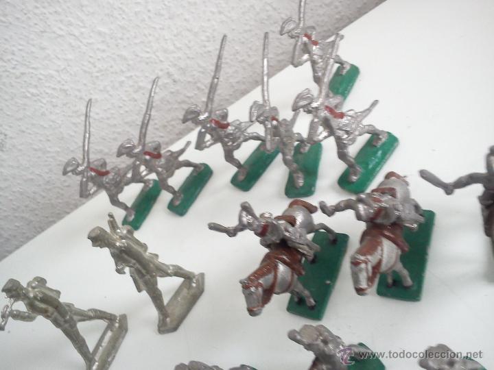 Juguetes Antiguos: MAGNIFICA Y ANTIGUA COLECION DE SOLDADITOS Y CAVALLITOS DE PLOMO DOS ANOS 50,60 - Foto 8 - 47608123