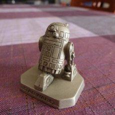 Juguetes Antiguos: R2-D2-STAR WARS FIGURA METÁLICA ESCALA 1/32(54/60MM)-LIC.LUCAS FILMS IMPORT. U.S.A. Lote 50225839