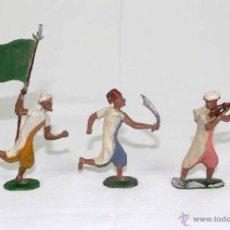 Juguetes Antiguos: CASANELLAS-CAPELL TRES FIGURITAS MOROS REF. 3MA. Lote 50449597