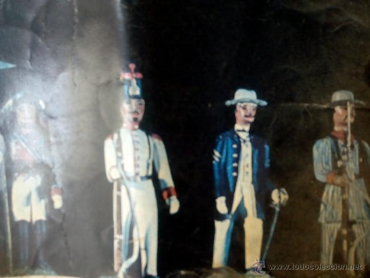 Juguetes Antiguos: poster soldaditos de plomo - Foto 2 - 50597434