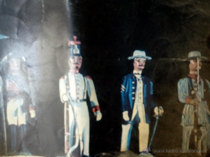 Juguetes Antiguos: poster soldaditos de plomo - Foto 3 - 50597434