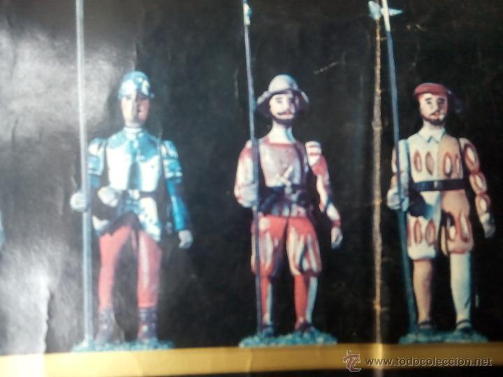 Juguetes Antiguos: poster soldaditos de plomo - Foto 5 - 50597434