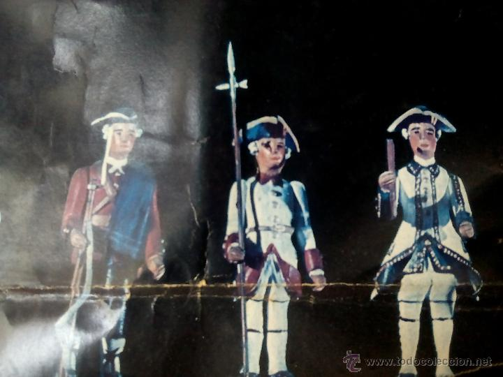 Juguetes Antiguos: poster soldaditos de plomo - Foto 7 - 50597434