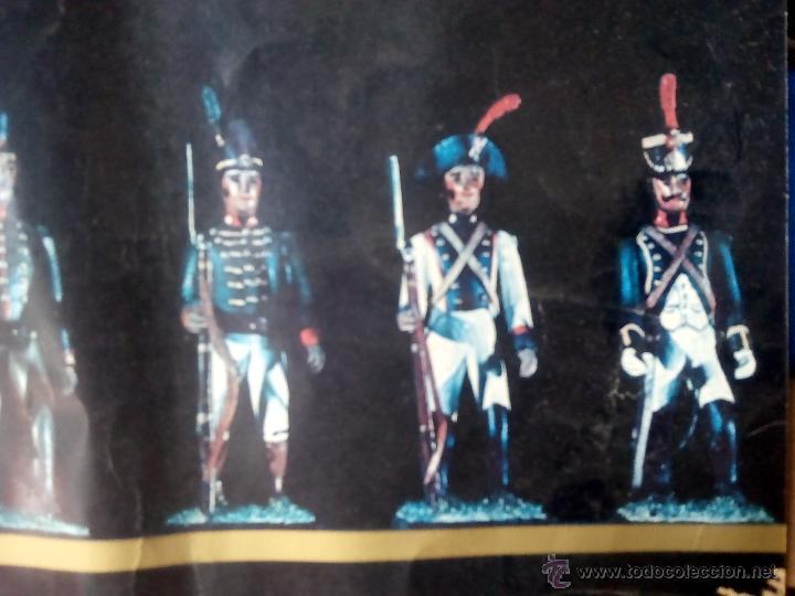 Juguetes Antiguos: poster soldaditos de plomo - Foto 8 - 50597434