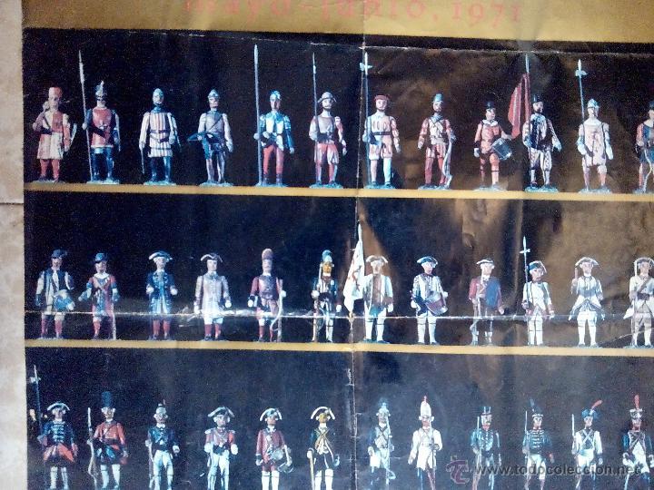 Juguetes Antiguos: poster soldaditos de plomo - Foto 10 - 50597434