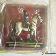 Juguetes Antiguos: FIGURA DE NAPOLEON A CABALLO EN LA BATALLA DE WACRAM . NUEVO EN SU BLISTER. Lote 51045617