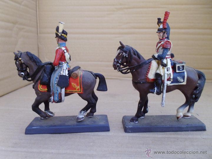 Juguetes Antiguos: Dos soldados de plomo a caballo de la casa DeA by Cassandra lot.nº15 - Foto 2 - 51750754
