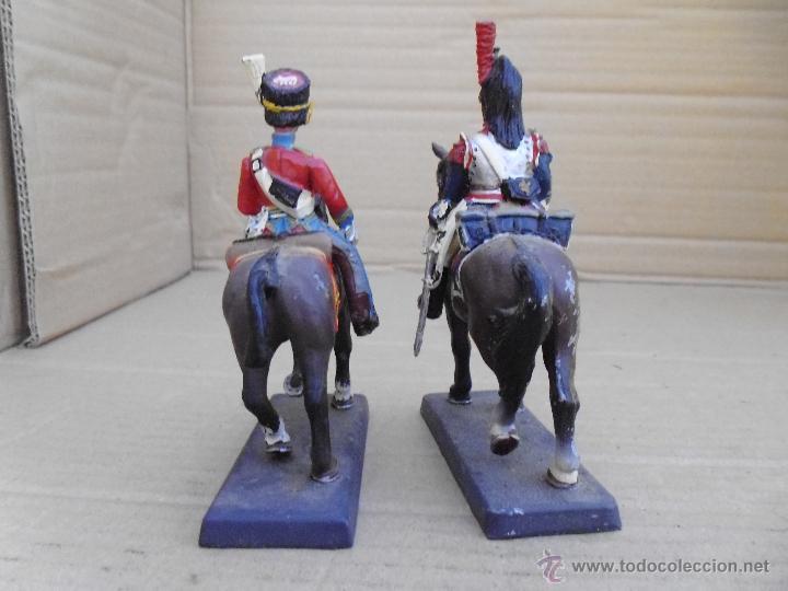 Juguetes Antiguos: Dos soldados de plomo a caballo de la casa DeA by Cassandra lot.nº15 - Foto 3 - 51750754