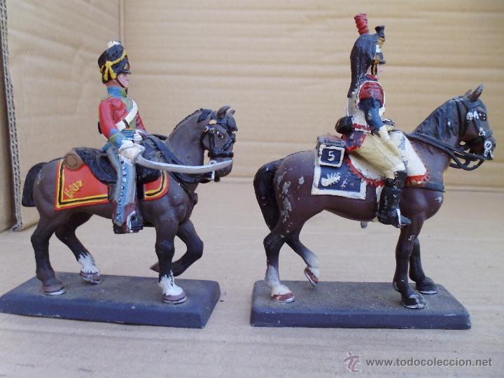 Juguetes Antiguos: Dos soldados de plomo a caballo de la casa DeA by Cassandra lot.nº15 - Foto 4 - 51750754