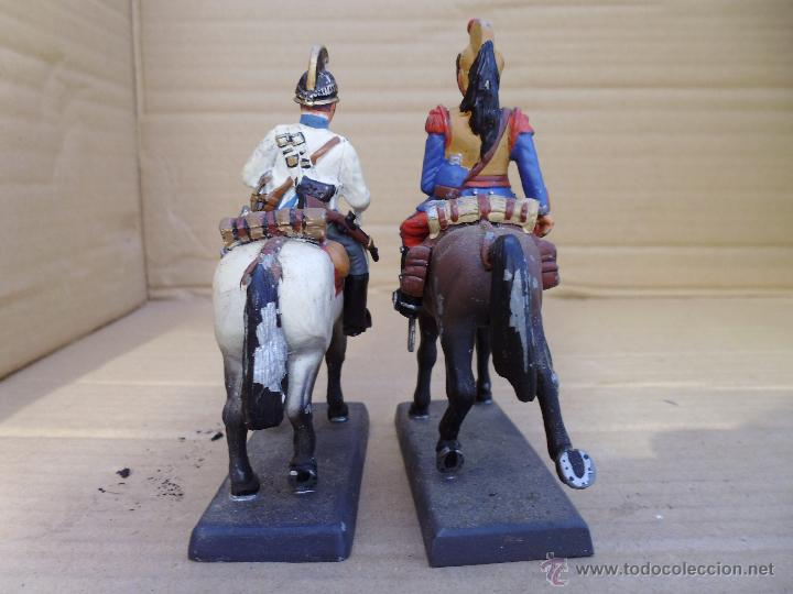 Juguetes Antiguos: dos soldados de plomo a caballo de la casa DeA by Cassandra lot.nº24 - Foto 3 - 51769519