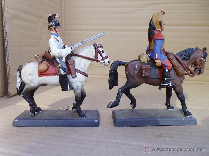 Juguetes Antiguos: dos soldados de plomo a caballo de la casa DeA by Cassandra lot.nº24 - Foto 4 - 51769519