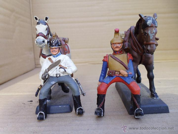 Juguetes Antiguos: dos soldados de plomo a caballo de la casa DeA by Cassandra lot.nº24 - Foto 5 - 51769519