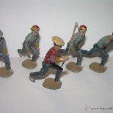 Juguetes Antiguos: ANTIGUAS FIGURAS DE PLOMO.. Lote 52890853