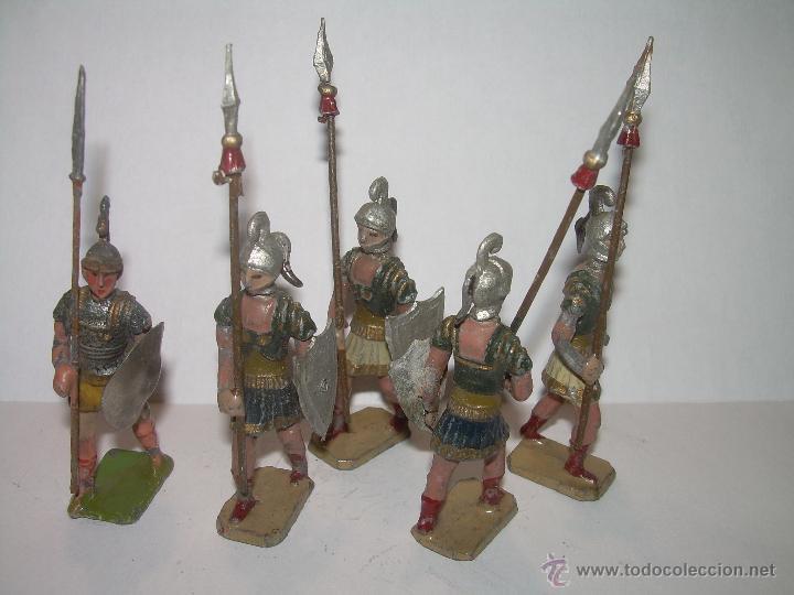 Juguetes Antiguos: ANTIGUAS FIGURAS DE PLOMO. - Foto 2 - 52890971