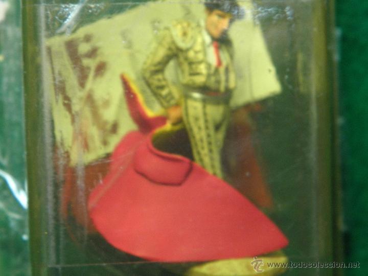 Juguetes Antiguos: FIGURA TORERO DE PLOMO - REVOLERA - NUEVO - Foto 2 - 53732372