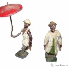 Juguetes Antiguos: ANTIGUOS SOLDADOS DE PLOMO JEQUE ARABE. Lote 54016835