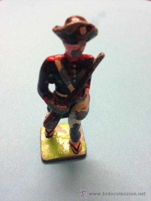 Juguetes Antiguos: .1 FIGURA SOLDADO DE PLOMO DE ** BRASIL 1897 - SOLDADO COMPAÑIA DE CANUDOS ** - - Foto 3 - 54728214