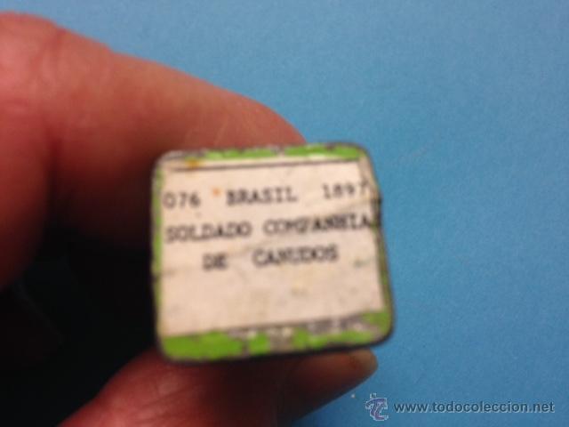 Juguetes Antiguos: .1 FIGURA SOLDADO DE PLOMO DE ** BRASIL 1897 - SOLDADO COMPAÑIA DE CANUDOS ** - - Foto 5 - 54728214