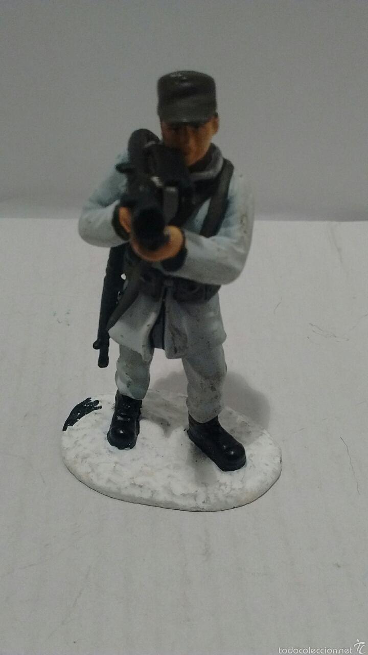 Juguetes Antiguos: Soldado de Metal Finnmark Jaeger, Norway. - Foto 2 - 54832447