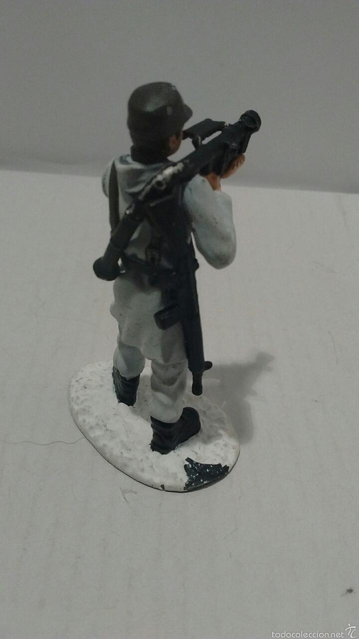 Juguetes Antiguos: Soldado de Metal Finnmark Jaeger, Norway. - Foto 4 - 54832447