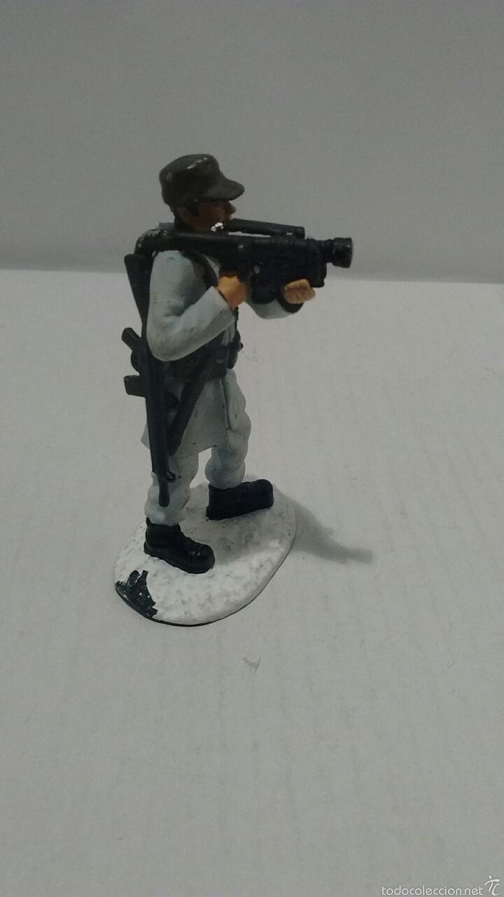 Juguetes Antiguos: Soldado de Metal Finnmark Jaeger, Norway. - Foto 5 - 54832447