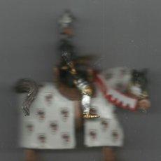 Juguetes Antiguos: CABALLERO BERTRAND DU GUESCLIN 1370 MARCA DEL PRADO. Lote 55091304
