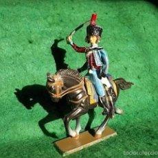 Juguetes Antiguos: STARLUX SERIE IMPERIO 1/32 - SOLDADO DE PLOMO A CABALLO- 1804-1815 - GUERRAS NAPOLEONICAS. Lote 55358501