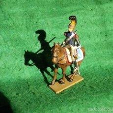 Juguetes Antiguos: STARLUX SERIE IMPERIO 1/32 - SOLDADO DE PLOMO A CABALLO- 1804-1815 - GUERRAS NAPOLEONICAS. Lote 55358514