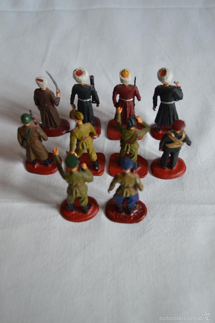 Juguetes Antiguos: Figuras de plomo. Soldados rusos. romanjuguetesymas. - Foto 4 - 55869899