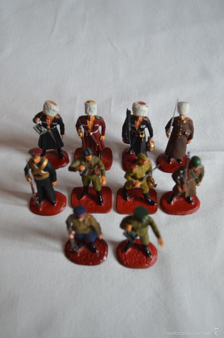 Juguetes Antiguos: Figuras de plomo. Soldados rusos. romanjuguetesymas. - Foto 5 - 55869899