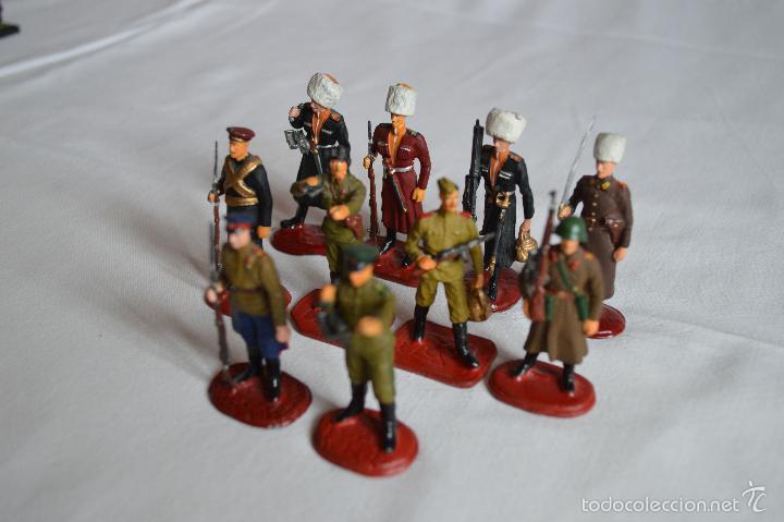 Juguetes Antiguos: Figuras de plomo. Soldados rusos. romanjuguetesymas. - Foto 6 - 55869899