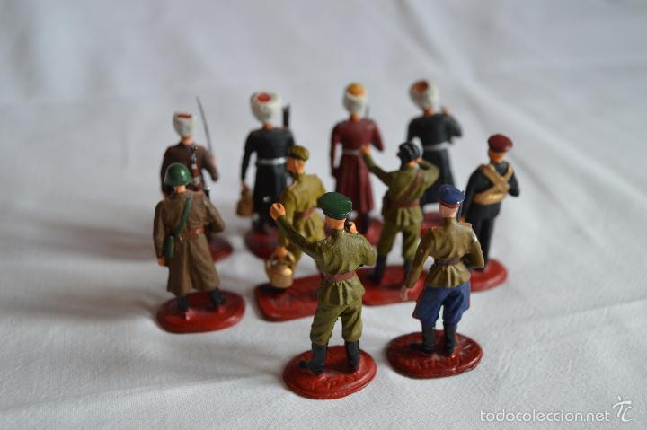 Juguetes Antiguos: Figuras de plomo. Soldados rusos. romanjuguetesymas. - Foto 7 - 55869899